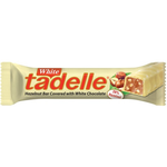Tadelle Hazelnut Bar Covered W White Choc 30g