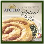 Apollo Spinach & Cheese Spiral Pie  850g