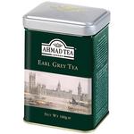 Ahmad Earl Grey Tea 100Gr Can