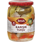 Berrak Mixed Pickles 720Ml Glass