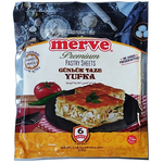 Merve Premium Gunluk Taze Yufka (6 Leaves) 1kg