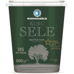 Marmara Birlik Gemlik Black Olives Kuru Sele 2XS (Dried Sele) 800Gr Plastic