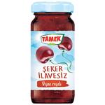 Tamek Sugar Free Sour Cherry Jam 290Gr Glass