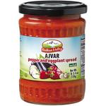 Balkan Mild Ajvar Red Pepper Spread 550 Gr jars