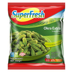 Superfresh Okra Frozen 450Gr