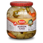 Berrak Mixed Pickles 1700Ml Glass