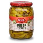 Berrak Yellow Pepper Pickles Mild 630Gr Glass