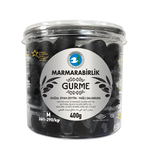 Marmara Birlik Gemlik Black Olives Gurme M (261-290) 400Gr Plastic