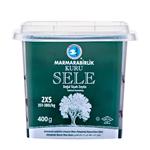 Marmara Birlik Gemlik Black Olives Kuru Sele 2XS (Dried Sele) 400Gr Plastic