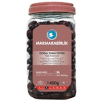 Marmara Birlik Gemlik Black Olives M Super 1400Gr Plastic