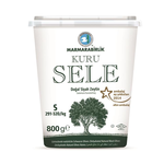 Marmara Birlik Gemlik Black Olives S Kuru Sele (Dried Sele) Iri Boy 291-320 800Gr Plastic