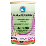 Marmara Birlik Gemlik Black Olives S Low Salt 800Gr Can