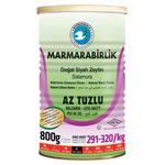 Marmara Birlik Gemlik Black Olives S Low Salt 800Gr Can