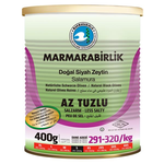 Marmara Birlik Gemlik Black Olives S Low Salt 400Gr Can