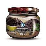 Marmara Birlik Black Olive Paste Baharatli 340Gr Glass