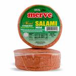 Merve Beef Sliced Salami Plain 1Lb