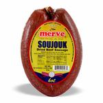 Merve Beef Soujouk Hot Round 1Lb