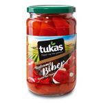 Tukas Roasted Red Peppers 720gr Glass