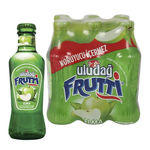 Uludag Frutti Mineral Water W Green Apple 200Ml Glass (6 Pack)