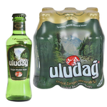 Uludag Mineral Water 200Ml Glass  (6 pack)