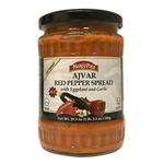 Marco Polo Hot Ajvar Red Pepper Spread 19.3 oz (545g) jars