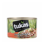 Tukas White Beans In Tomato Sauce 400gr Can