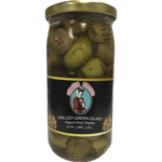 Yoruk Grilled Green Olives 200Gr Glass