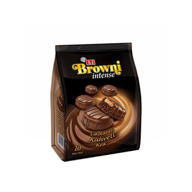 Eti Browni Intense Chocolate Covered Cakes w/ Cream F Cookie