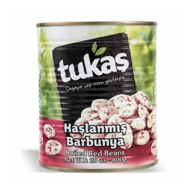 Tukas Red Kidney Beans Boiled 830Gr Can