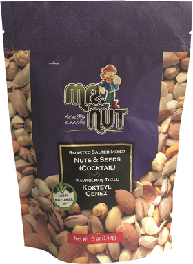 Mr. Nut Mixed Nuts (Coctail) 5 Oz (142Gr)